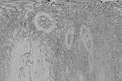 Abstrakte Illustrationen Schwarzweiss-B&W-Schmutzes, rau oder Retro-, begrifflich Wiederholung, splats, Segeltuch u. Hintergrund stock abbildung