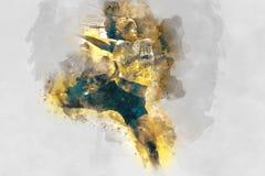 Abstrakte Inc Lizenzfreies Stockbild