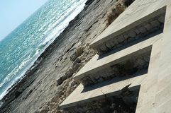 Abstrakte Küste Stockfotografie
