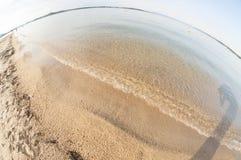 Abstrakte Küste in Griechenland Lizenzfreies Stockfoto