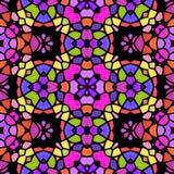 Abstrakte kaleidoskopische Hintergrundbeschaffenheit lizenzfreie stockfotografie
