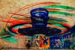 Abstrakte Karnevals-Lichter stockfoto