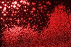 Abstrakte Karte der frohen Weihnachten Stockfoto