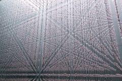 Abstrakte Kaskade von Kristallsteinen Lizenzfreies Stockbild