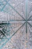 Abstrakte Kaskade von Kristallsteinen Lizenzfreie Stockbilder