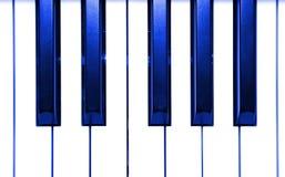 Abstrakte Klavier-Tasten Stockfoto