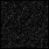 Abstrakte Kodierungszusammensetzung stock abbildung