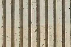Abstrakte konkrete Kanten Lizenzfreie Stockbilder