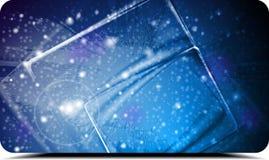Abstrakte kosmische Auslegung Stockbilder