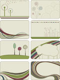 Abstrakte kreative Hintergründe Lizenzfreies Stockbild