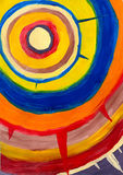 Abstrakte Kreise stock abbildung