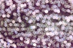 Abstrakte Kreislichter als Hintergrund Stockfotos