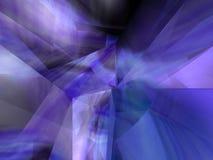 Abstrakte Kristallwand Stockfotos