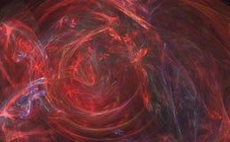 Abstrakte Kunst - Dantes Rache Lizenzfreies Stockfoto