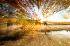 Abstrakte Landschaft Stockfotografie