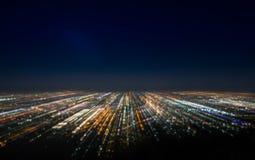 Abstrakte lange Belichtung, bokeh scape stockfotografie