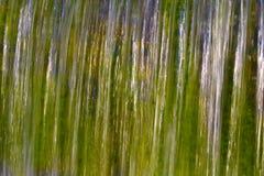 Abstrakte lange Belichtung eines Wasserfalls Lizenzfreies Stockbild