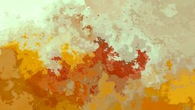 Abstrakte lebhafte befleckte ockerhaltige beige braune Videofarben der nahtlosen Schleife des Hintergrundes stock video footage