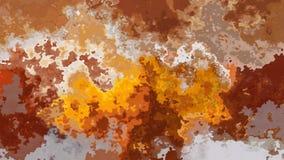 abstrakte lebhafte befleckte ockerhaltige braune beige graue Videofarben der nahtlosen Schleife des Hintergrundes stock video footage
