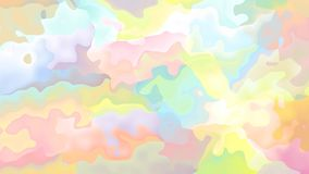 abstrakte lebhafte befleckte Videopastellfarben der nahtlosen Schleife des Hintergrundes stock footage
