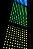 Abstrakte LED-Reihe Lizenzfreie Stockbilder