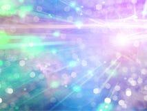 Abstrakte Leuchte lizenzfreie abbildung