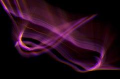 Abstrakte Leuchte Stockfotografie