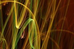 Abstrakte Leuchte Lizenzfreies Stockfoto