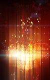 Abstrakte Leuchten lizenzfreie abbildung