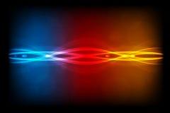 Abstrakte Leuchten. Stockbild