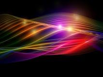 Abstrakte Leuchten Stockfoto