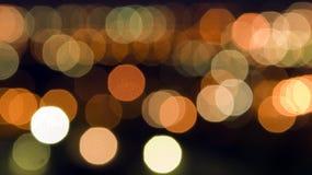 Abstrakte Leuchten für Hintergrund Lizenzfreies Stockfoto