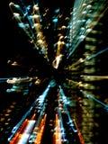 Abstrakte Leuchten von den Gebäuden Lizenzfreie Stockfotos