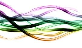 Abstrakte Leuchtespuren Lizenzfreie Stockbilder