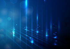 Abstrakte Lichter und bokeh Hintergrund Stockfoto