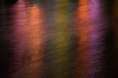 Abstrakte Lichter und Wassermuster Lizenzfreie Stockbilder
