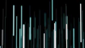 Abstrakte Lichtstrahlen stock abbildung