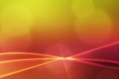 Abstrakte Lichtwellen wärmen Hintergrund Lizenzfreie Stockfotos