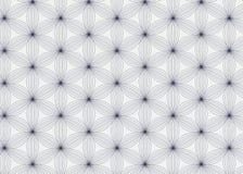 Abstrakte lineare Blumenblattblume Vektor Stockbild