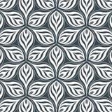 Abstrakte lineare Blumenblattblume Verschiedene Varianten der Farbe sind möglich vektor abbildung