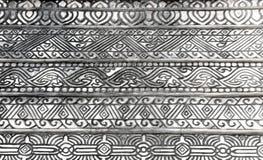 abstrakte Linie Muster auf Zementwand Lizenzfreie Stockfotos