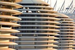 Abstrakte Linien auf Architektur Modernes Architektursonderkommando Lizenzfreie Stockfotos
