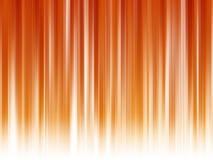 Abstrakte Linien auf orangerotem Hintergrund Stockfotografie