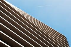 Abstrakte Linien der Gebäudestruktur Abstrakte Farbe und Design Lizenzfreie Stockfotografie