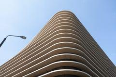Abstrakte Linien der Gebäudestruktur Abstrakte Farbe und Design Stockbild
