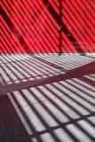 Abstrakte Linien eines Schattens der Bauelemente Stockfotos