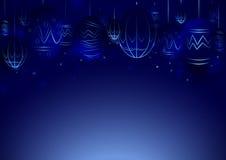 Abstrakte Linien umkreisen Lichttechnologie-Ostereikonzept Stockfotografie