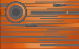 Abstrakte Linien und Kreise Stockfotos
