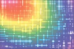 Abstrakte Linien und Licht Lizenzfreie Stockfotos
