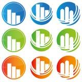 Abstrakte Logos Lizenzfreie Stockfotos